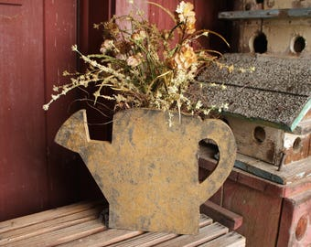 Water Can Flower Box/Primitive Decor