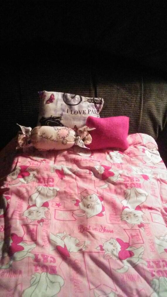 American Girl Inspired 18 Inch Doll Bedding Disney Aristocats