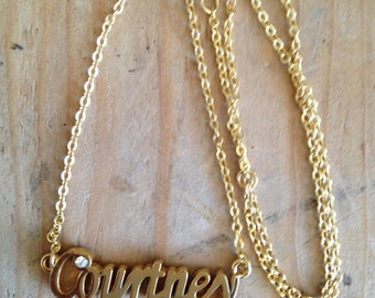 Courtney Necklace in Gold or Silver