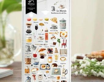Sticker  Le Marais | Sonia Design Stickers, Korean Cute Stickers, Unique Craft Supplies and Card Making Materials (2032)