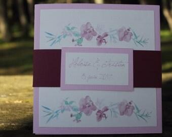 Invitation wedding range | Wedding Orchid |