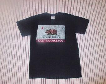 Vintage California Republic T-Shirt Sz M