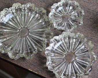 Glass nested dishes