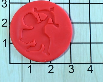 Valentine's Day Cupid Fondant Cookie Cutter AND Stamp #1635