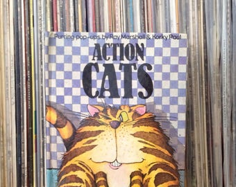 Action Cats Pop up Book by Ray Marshall and Korky Paul