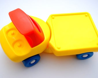 Vintage Little Tikes Little People Truck