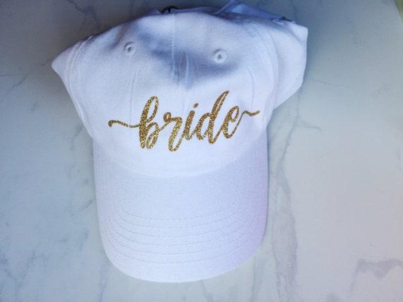 Bride Hat   Bride Cap   Bride Baseball Hat Cap