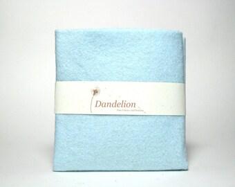"1 Piece of Barely Blue Wool Blend Felt 22.8cm x 30.4cm (9"" x 12"")"