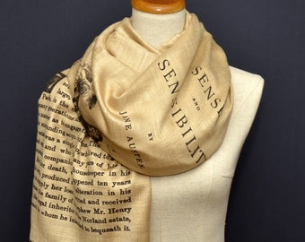 Sense and Sensibility by Jane Austen Shawl Scarf Wrap