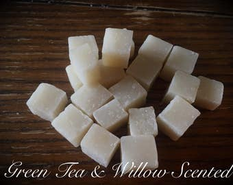 Green Tea & Willow Scented Wipe Bits