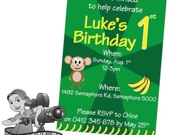 Monkey Invites