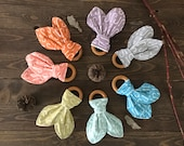 Organic Baby Teether Ring, fishing baby gift, organic baby teether, organic wood baby teether, fishing baby teether, organic baby gift