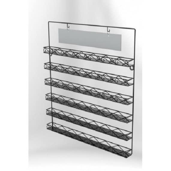 wall mounted wire display racks - 28 images - modern brown metal ...