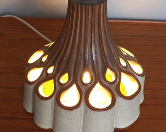 Vintage Pottery Lamp by Shelf of Halifax.