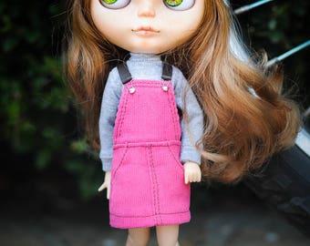 Blythe overall suspender skirt by Blablablythe