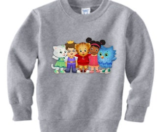 Daniel Tiger  Sweatshirt Custom (Colors)