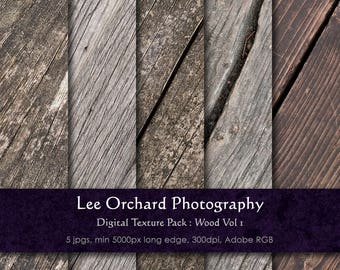 Large Digital Textures : Wood Vol 1 || Digital Paper / Digital Background