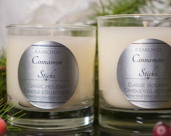 Cinnamon Sticks Scented Candle 8oz