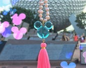 Park Pearls - Mouse Ear Pearl Silk Tassel Necklace