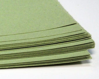 Recycled A2 Lime Sugar Paper 100gsm Lime Construction Craft Paper Stock Choose Quantity