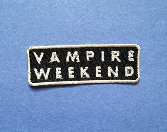 Vampire Weekend Iron-on Patch