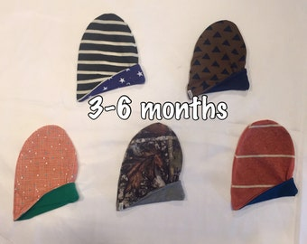 RTS Reversible Slouchy Beanies 3-6 month