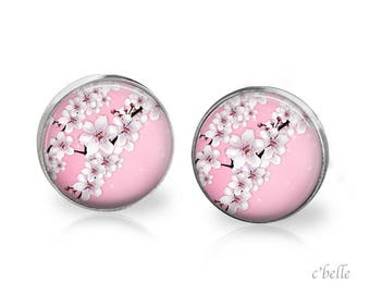 Earrings cherry blossom 66