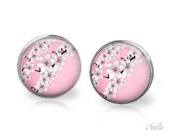 Earrings cherry blossom 66