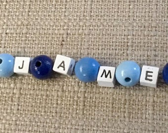 Pacifier blue football name