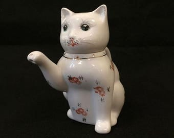Ceramic Cat Teapot