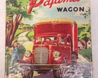 The Big Red Pajama Wagon  - A Tell-A-Tale Book