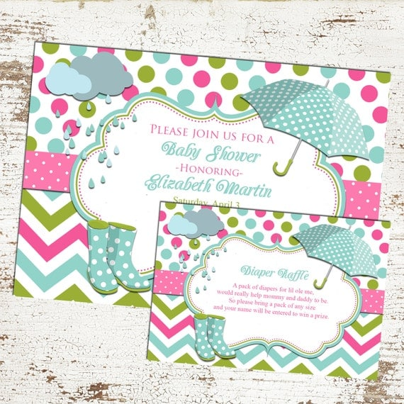 Blue baby shower party diaper raffle insert and invitation april il570xn filmwisefo