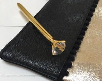 Diamond pen - Gold (A01)