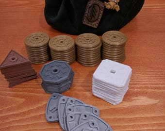 D&D Currency, Prop coins to track GP easily