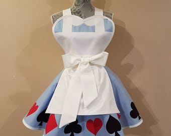 Ready to Ship Alice In Wonderland Apron
