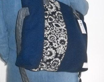 Handmade handbag, unique and exclusive design