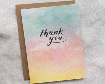 Thank You - Thank You / Thanks Card
