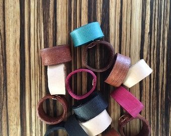 Leather Ring- Original