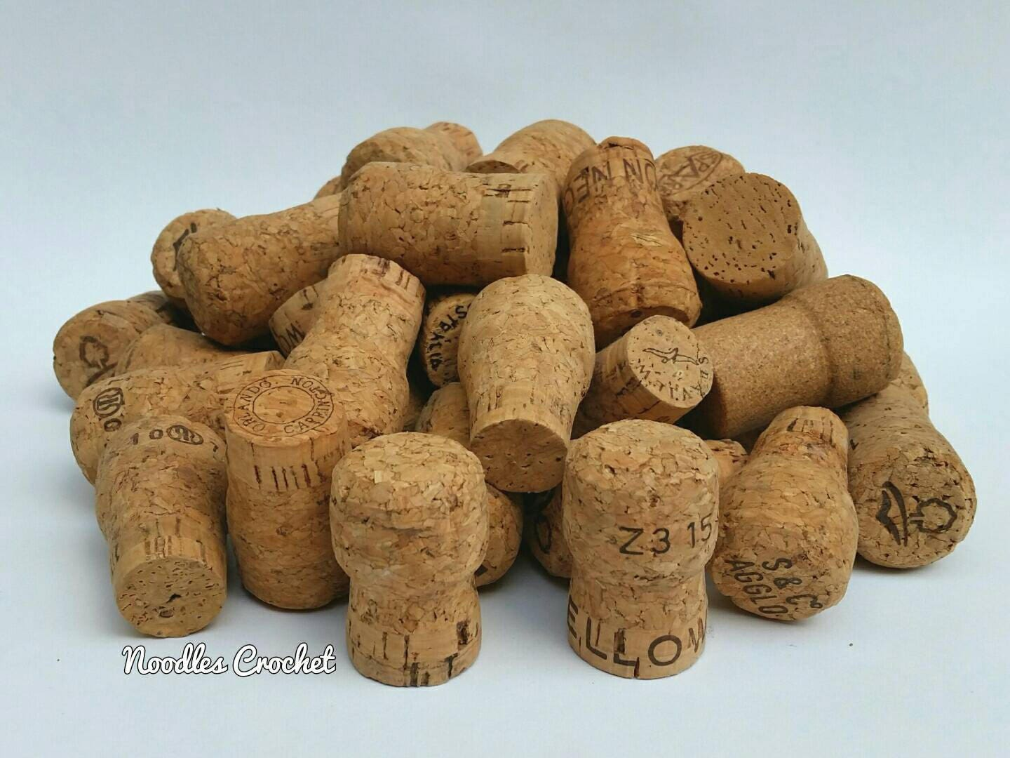 Used wine corks for crafts -  7 25