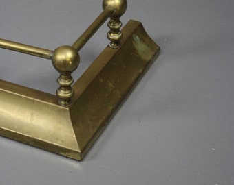 Brass Antique Style Fire Fender