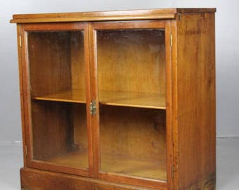 Mahogany Glazed Cabinet Bookcase