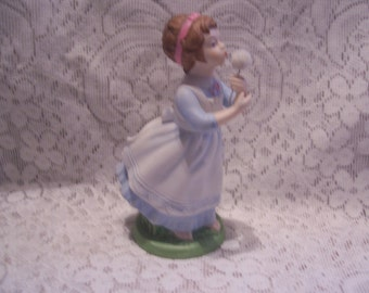 Girl With Dandelion Avon Collectible Figurine