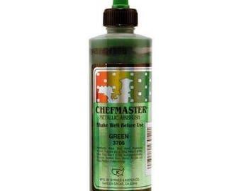 METALLIC GREEN Chefmaster Airbrush Color