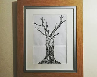 The Incomplete Tree Nature Illustration