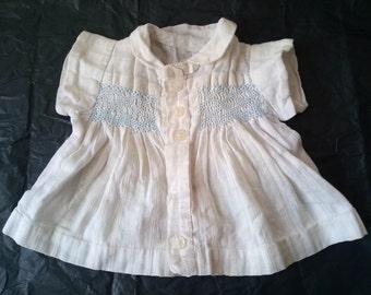 "Vintage Hand Stitched Dress for 20/23"" Antique Doll"