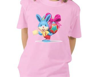Unique  Easter T-Shirt, Easter Bunny, Personal Shirt, Heat Transfer Vinyl