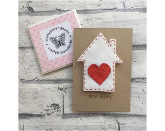 New home card, House magnet, new beginnings, house warming, welcome home