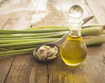 100% Pure, Organic, and Natural Lemongrass Essential Oil 8 oz. | 16 oz.
