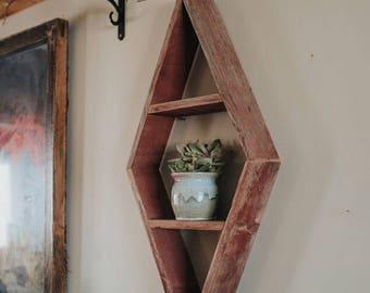 Geometric - Diamond Shelf