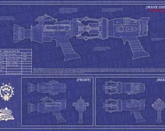 Black Ops Zombies: WAVE GUN BLUEPRINT (digital download)